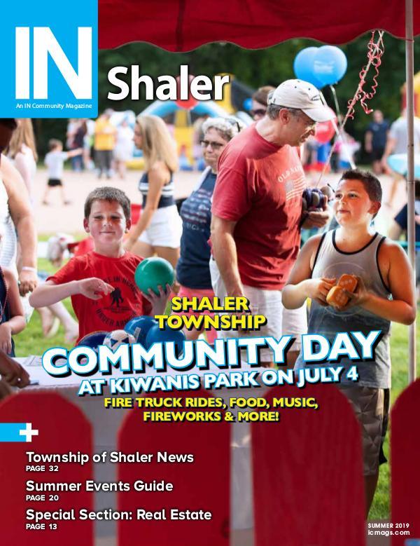 IN Shaler Summer 2019