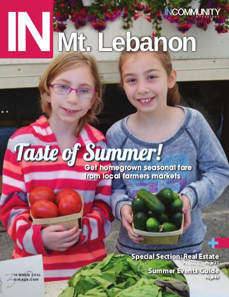 IN Mt. Lebanon Summer 2016
