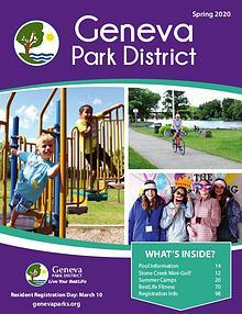 Geneva Park District Spring 2020 Program Catalog