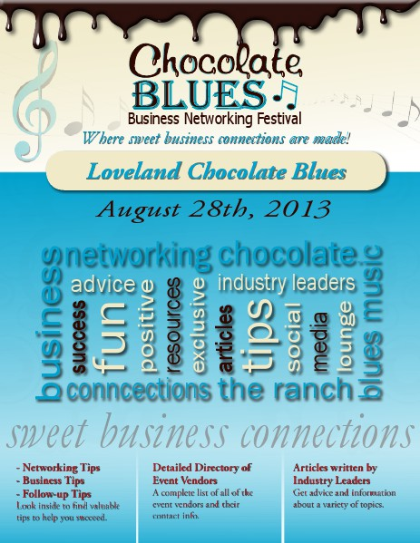 Chocolate Blues Business Networking Festival August 2013