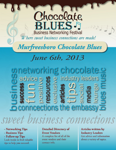 Chocolate Blues Business Networking Festival June 2013
