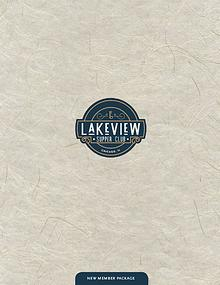 Lakeview Supper Club Welcome Packet