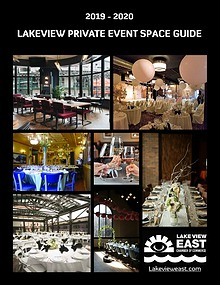 2019 | 2020 Lakeview Private Event Space Guide