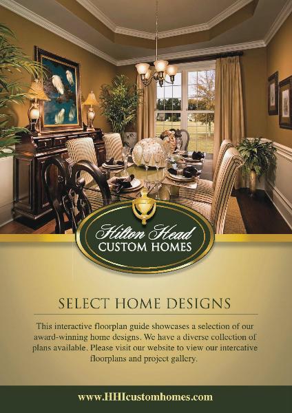 Hilton Head Custom Homes - Digital Floor Plan Guide Vol. 1 - Floor Plan Guide