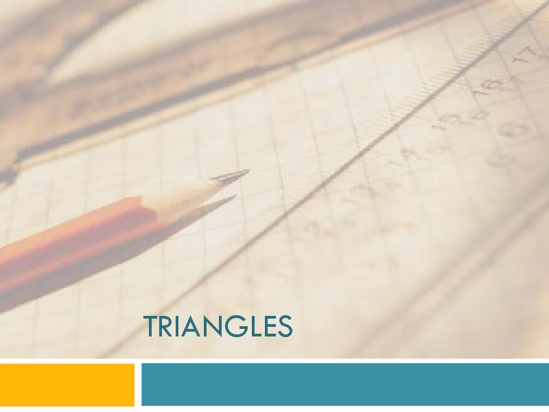 math manal triangles