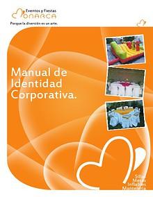 Manual de Identidad Corporativa de Eventos y Fiestas Monarca
