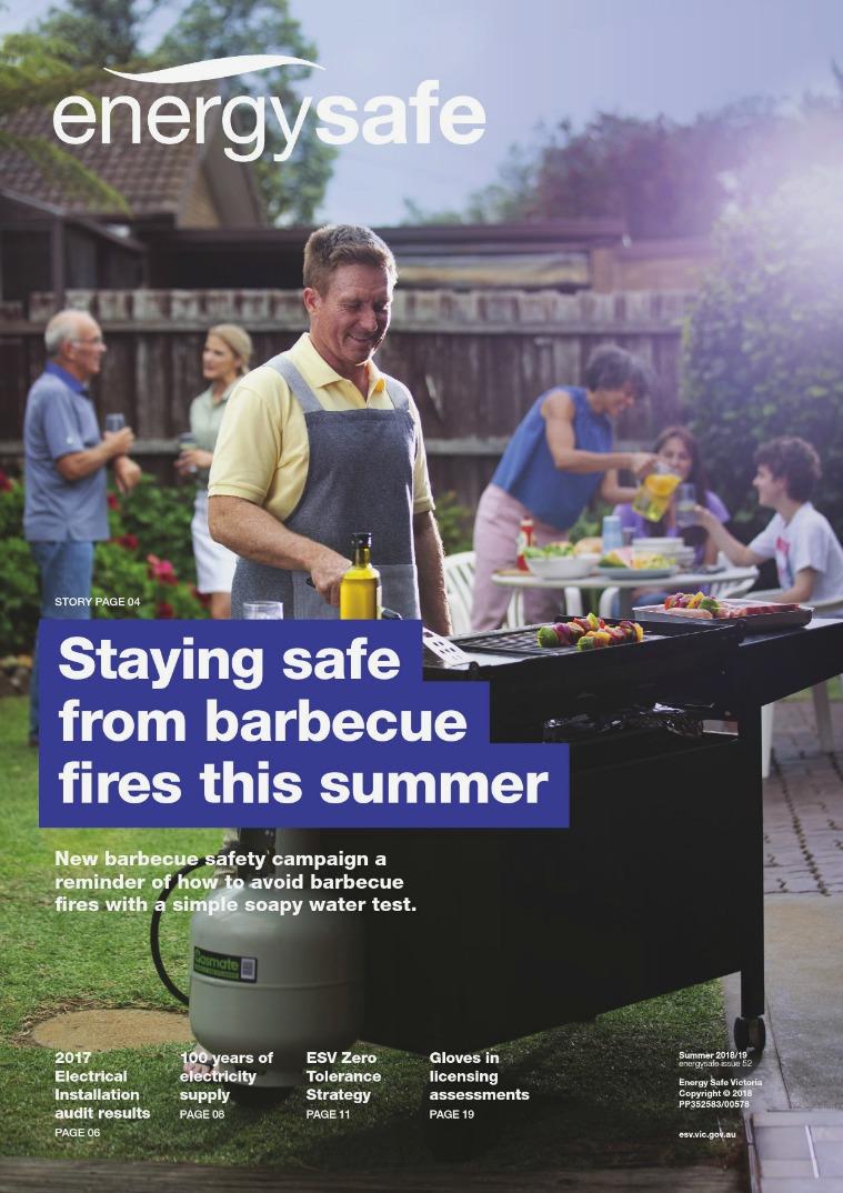 EnergySafe Magazine Summer 2018/19, issue 52