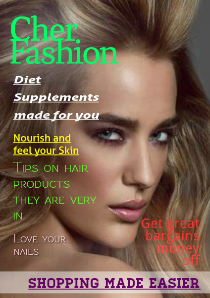 Cher Fashion E Magazine Mar 2014