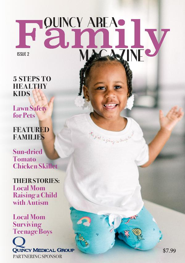 Quincy Area Family Magazine QAF Magazine Issue 2
