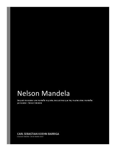 Nelson Mandela march.2014