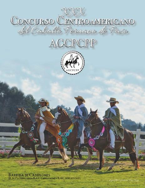 Revista Oficial del XXX Concurso Centroamericano del Caballo Peruano 2015