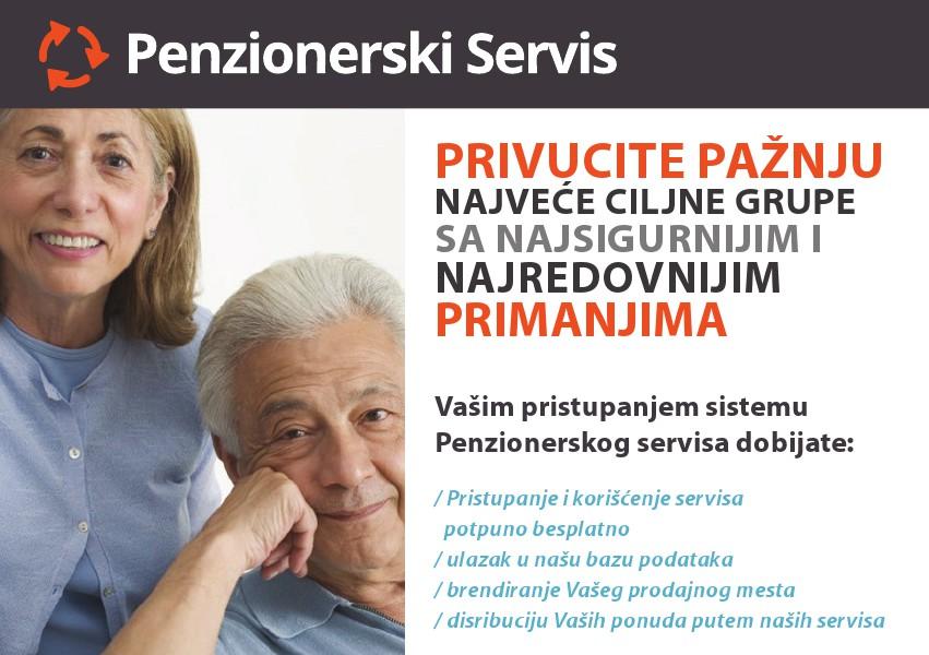 Popusti za penzionere Brošura za popuste