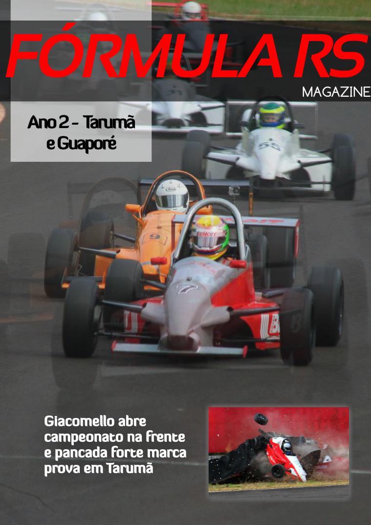 Fórmula RS Magazine Edição #8 - 2015