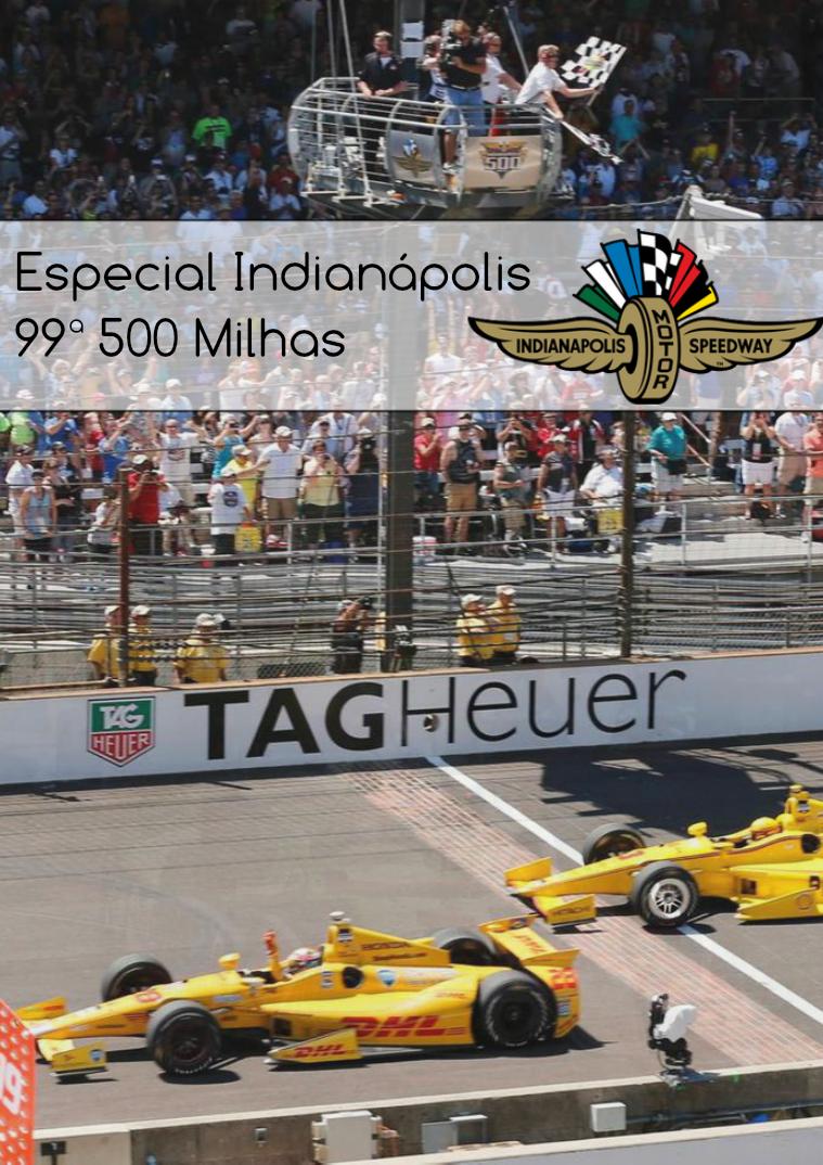 Especial 500 Milhas de Indianápolis Edição 2015