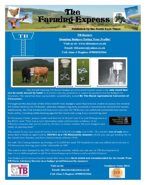 The Farming Express October 2013