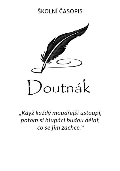 Skolni casopis Doutnak - 1. vydani