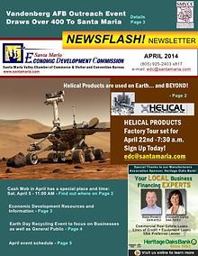 APRIL 2014 Economic Dev Newsletter - Santa Maria.pdf