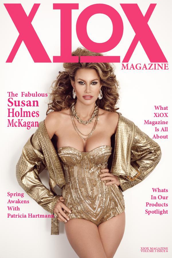 XIOX MAGAZINE issue 3 volume 6 susan holmes