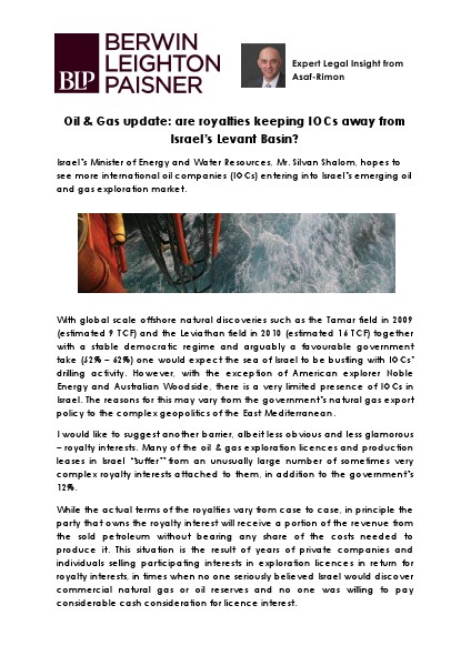 BLP Oil & Gas Update Creative Doc.pdf Mar. 2014