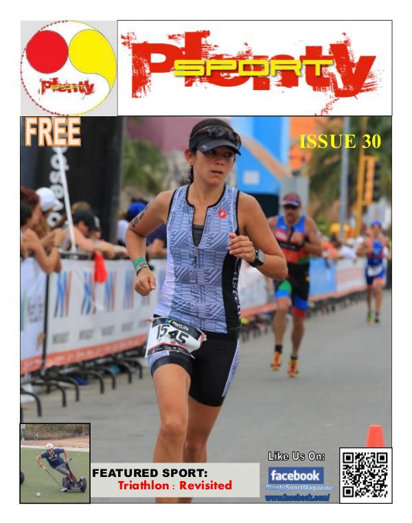 Plenty Sport : EZINE 30 Triathlon
