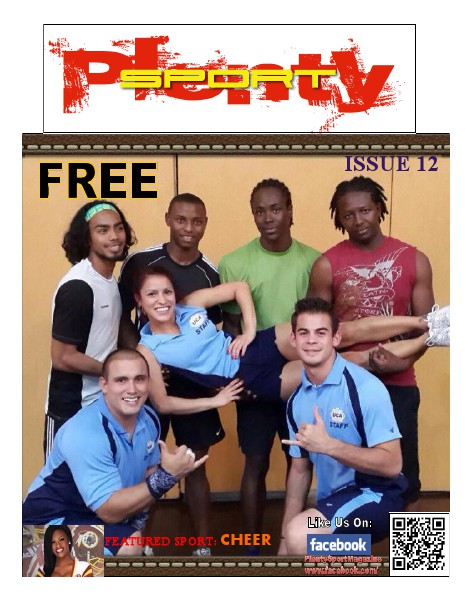 Plenty Sport : EZINE ISSUE 12 - THE Sport of CHEER
