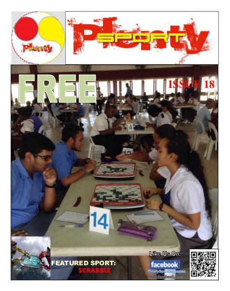 Plenty Sport : EZINE 18 Scrabble