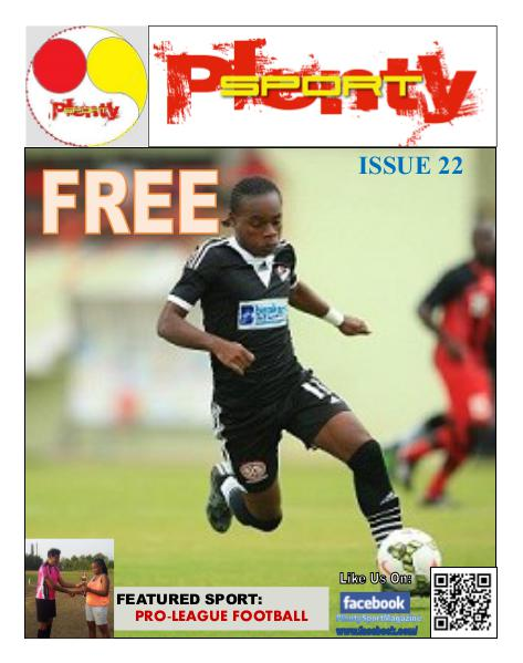 Plenty Sport : EZINE 22 PRO League Football