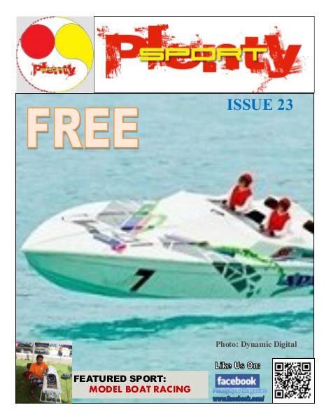 Plenty Sport : EZINE 23 Model Boat Racing