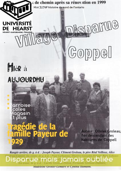 Coppell, un village disparu mais pas oublié (April,2014)