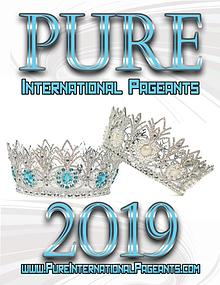 2019 Pure International Pageants - National Magazine