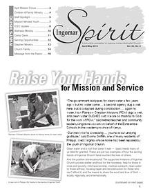 Ingomar Spirit Newsletter
