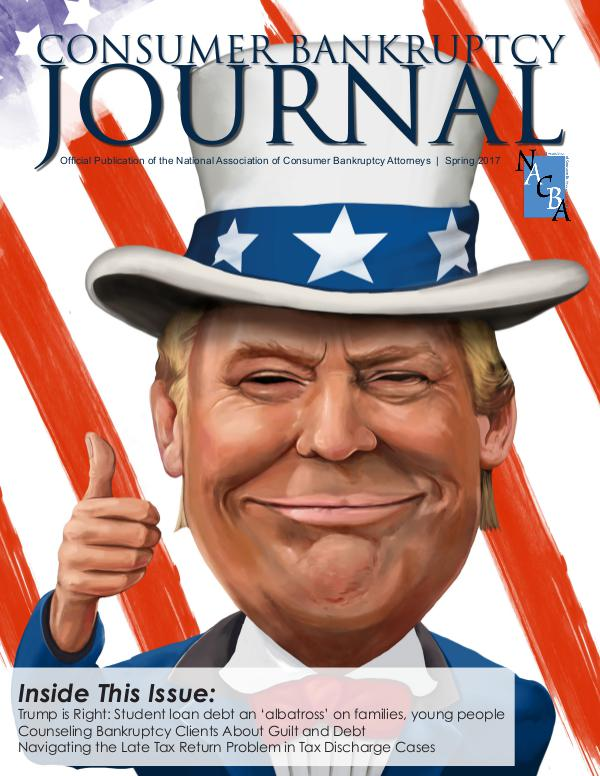 Consumer Bankruptcy Journal Spring 2017