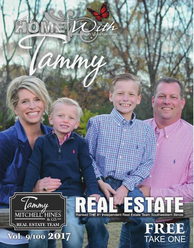 At Home with Tammy Real Estate Magazine Winter 2017