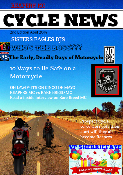 CYCLE NEWs 2nd Edition April 2014