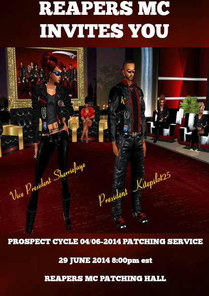 CYCLE NEWs PATCHING INVITATION