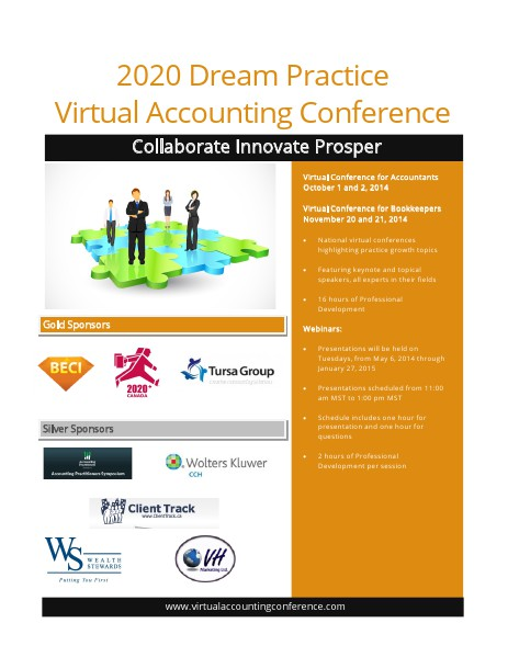 2020 Dream Practice Virtual Accounting Conference May 2014