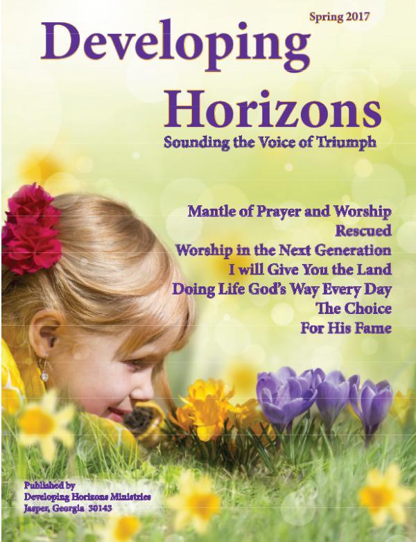 Developing Horizons Magazine (2).pdf Spring 2017