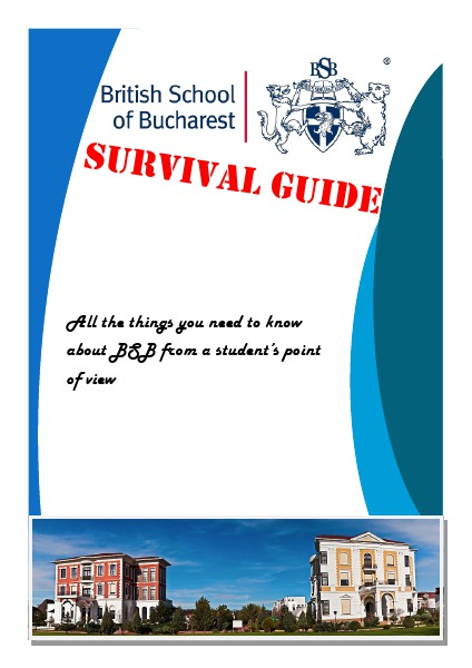 BSB Secondary Survival Guide BSB Secondary Survival Guide