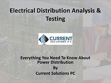 Electrical Power Distribution Analysis & Testing