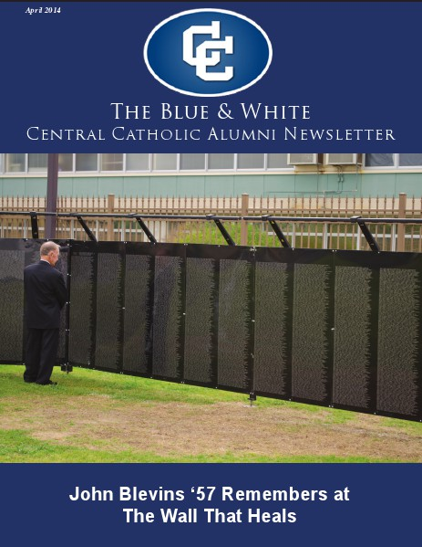 The Blue and White Newsletter April 2014