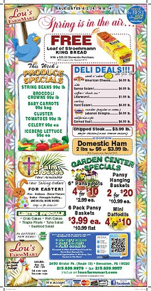 Lou's Farm Mart Weekly Sale Offer