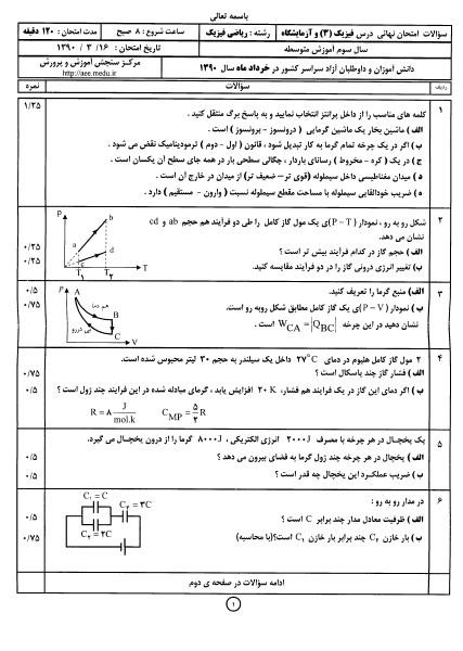 فیزیک Jun.2013