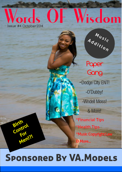 Words  Of  Wisdom Issue #4  October 2014