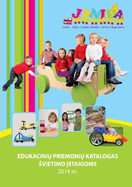Edukacinių priemonių katalogas švietimo įstaigoms April. 2014