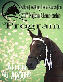 2017 NWHA National Championship Show Program