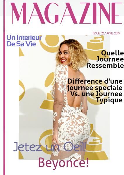 Beyonce April 2014