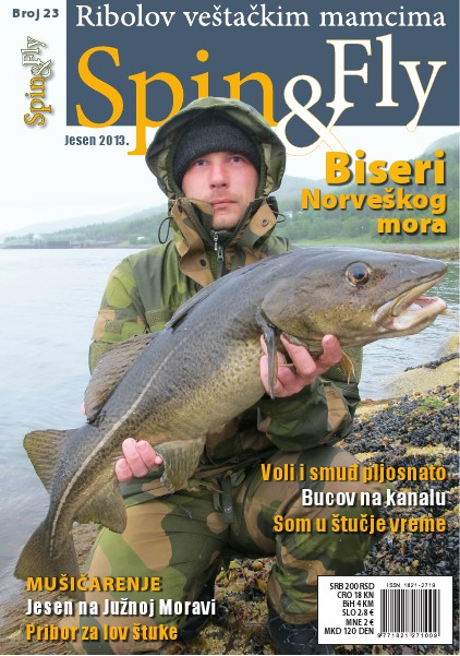 Spin&Fly 23 - Biseri Norveškog mora September 2013