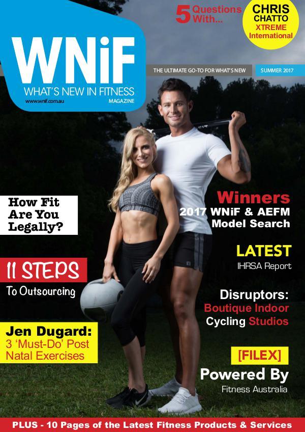WNiF Magazine - Summer 2017 Edition