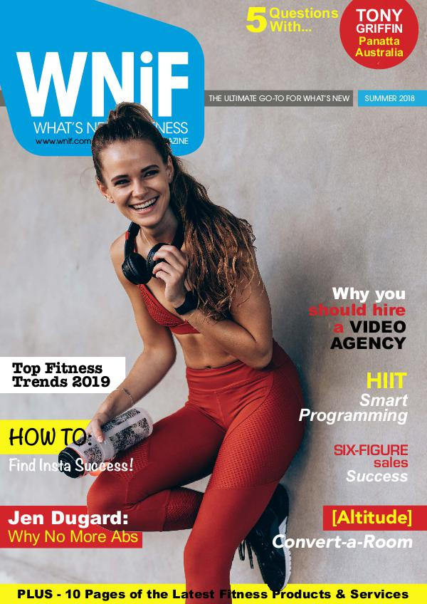 WNiF Magazine - Summer 2018 Edition