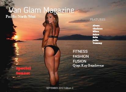 Van Glam Magazine September 2012 Edition